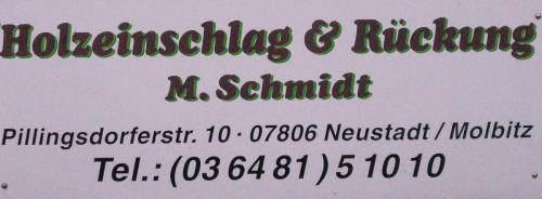 Holzeinschlag & Rückung Schmidt