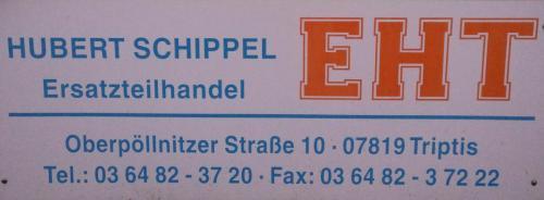 EHT Hubert Schippel