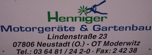 Henniger Motorgeräte & Gartenbau