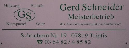 Meisterbetrieb Gerd Schneider