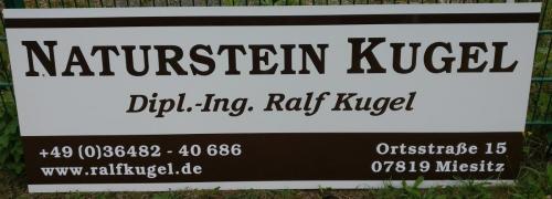 Naturstein Kugel